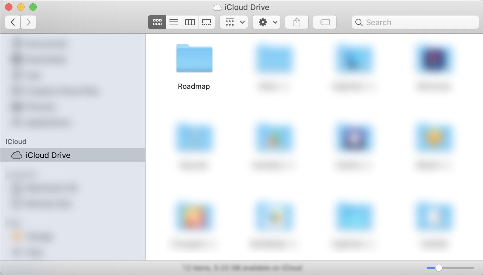 Synchorization via iCloud Drive | Roadmap for macOS